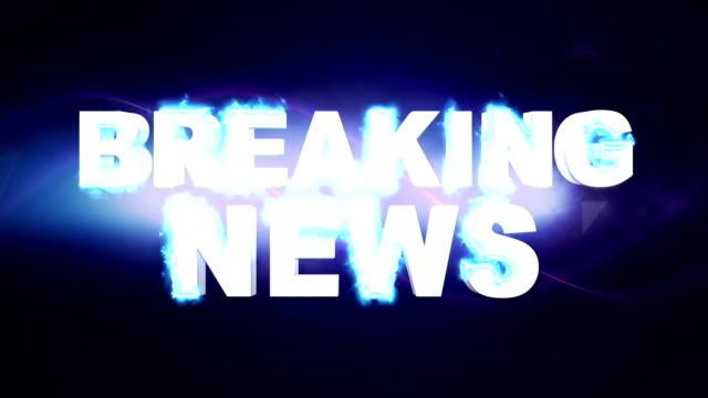 breaking news textanimering och sökord, - paper mass bildbanksvideor och videomaterial från bakom kulisserna
