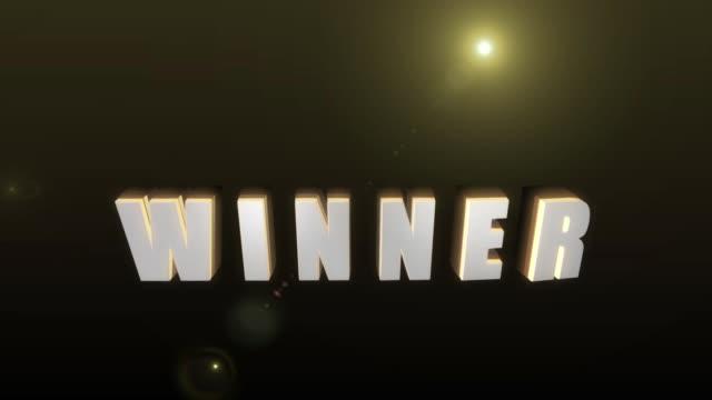 Textanimation WINNER – Video