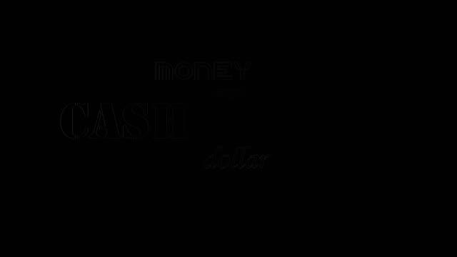 text kinetic typografi animation med alfakanal. begreppet rich. - dirty money bildbanksvideor och videomaterial från bakom kulisserna