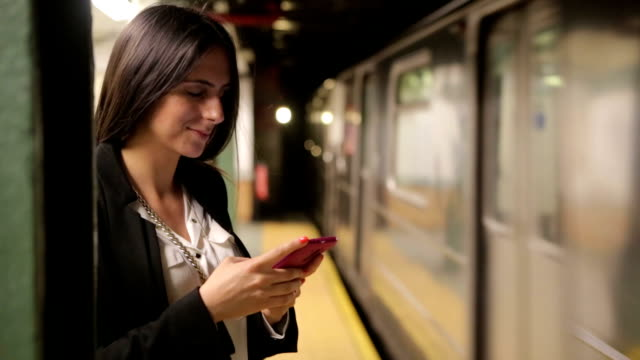Text messaging on smartphone video