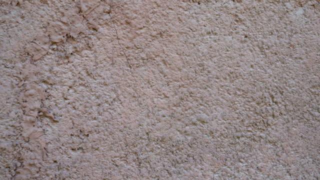 古い壁の背景のテクスチャ - セメント点の映像素材/bロール
