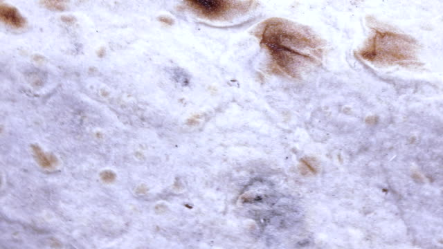 Texture of thin bread video