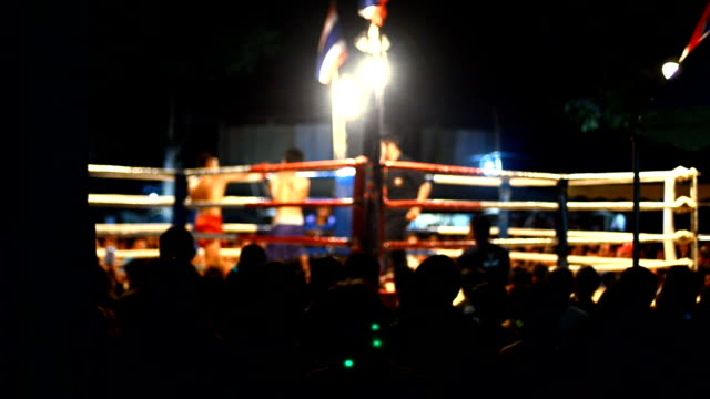 Thai boxing video