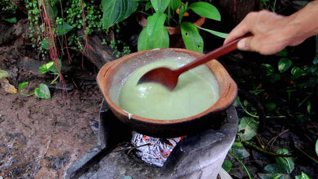 Thai custard video
