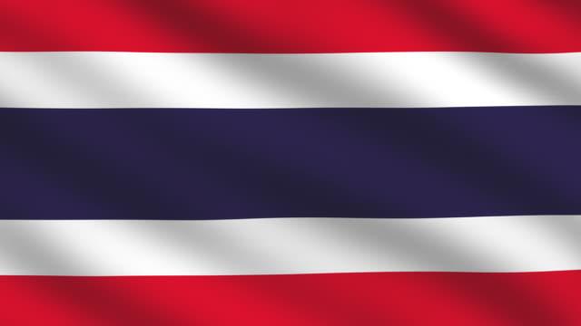 Thai flag video