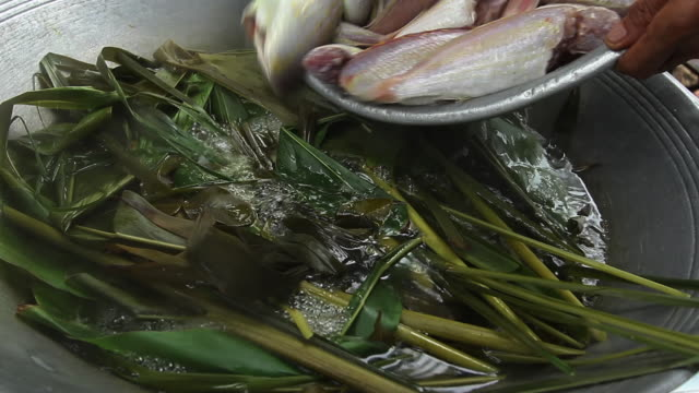 Thai Food Cooking Fish video