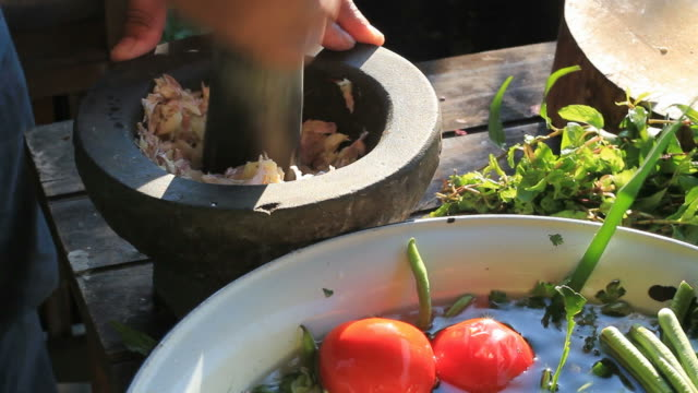 Thai food cooking in local style video
