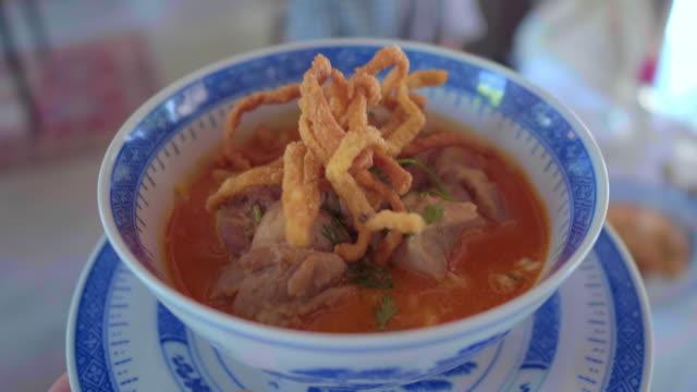 thai food : personal perspective - tajska kuchnia filmów i materiałów b-roll