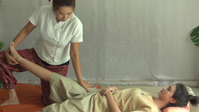 Thai Massage In Spa video