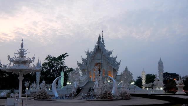 thai temple - stupa stok videoları ve detay görüntü çekimi