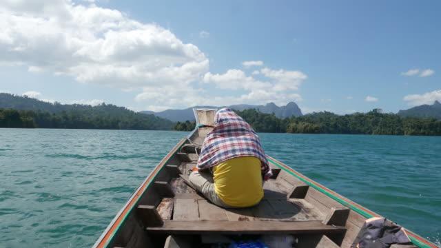 Thailand, Cheow Lan Lake or Rajjaprabha Dam Reservoir video