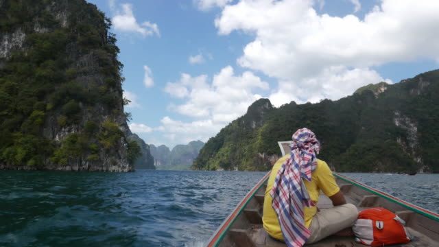 Таиланд, Cheow Доступ в Интернет озеро или Представляет Плотина водохранилище видео