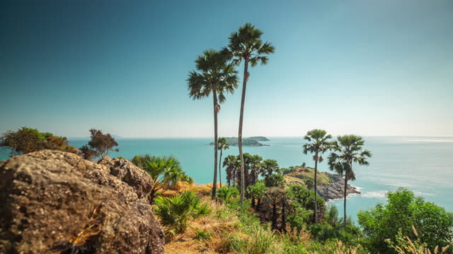 thailand day phuket famous observation deck panorama 4k time lapse video