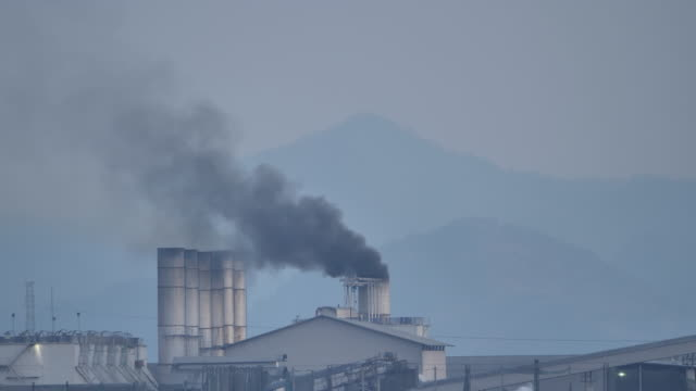 Thailand factory at the countryside at evening time, industry and pollution concept Thailand factory at the countryside at evening time, industry and pollution concept generation x stock videos & royalty-free footage