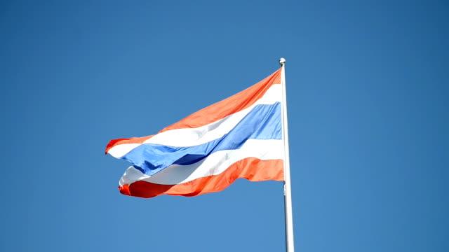 Thailand Flag video