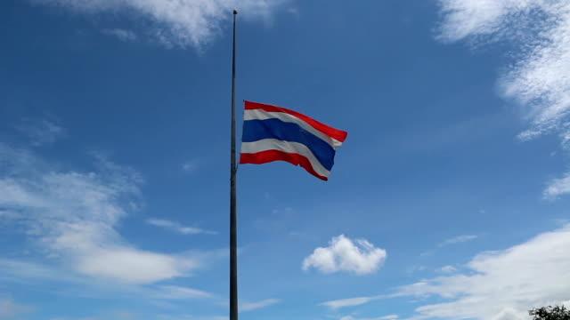 thailand förlorade. - kungen av thailand bildbanksvideor och videomaterial från bakom kulisserna