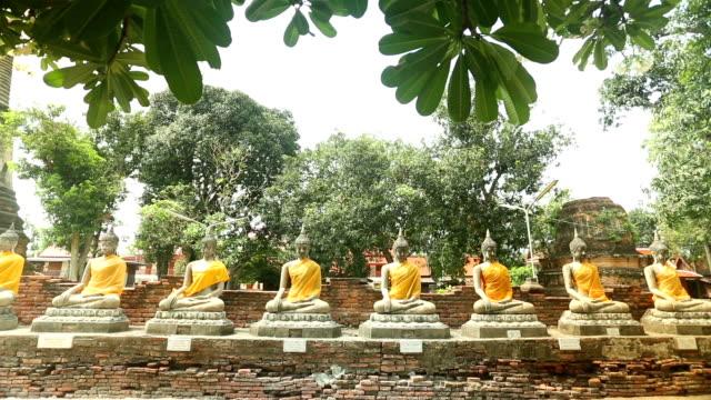 tailandia tempio - full hd format video stock e b–roll