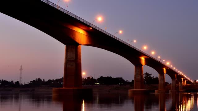 Thai-Laos Friendship Bridge video