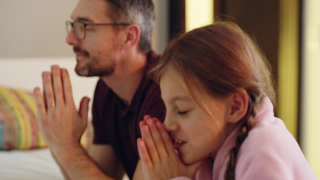 thank god for dads - christianity stock videos & royalty-free footage