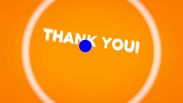 thank you intro outro - thank you stock videos and b-roll footage