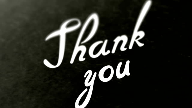 """stockvideo's en b-roll-footage met """"thank you"""" op de pagina. beelden in een lus heeft 4k resolutie. - bewondering"""