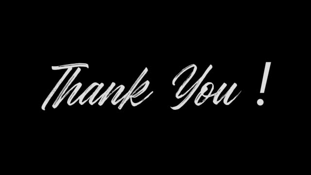 Thank You ! sign Linear Gradient Left-Right Transition on black background Thank You ! sign Linear Gradient Left-Right Transition on black background thank you stock videos & royalty-free footage