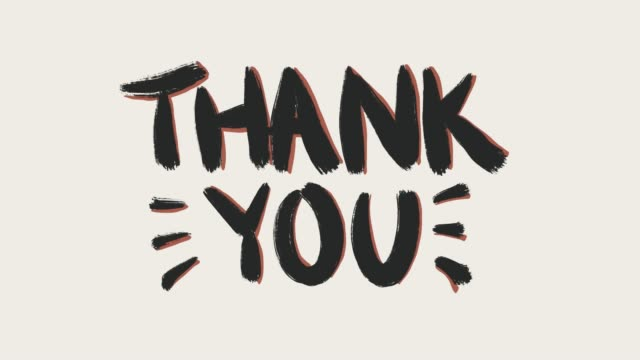 Thank you v1 Thank you colored thank you stock videos & royalty-free footage