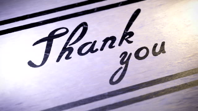 Thank you video