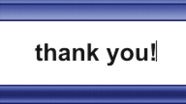 Vielen Dank! – Video