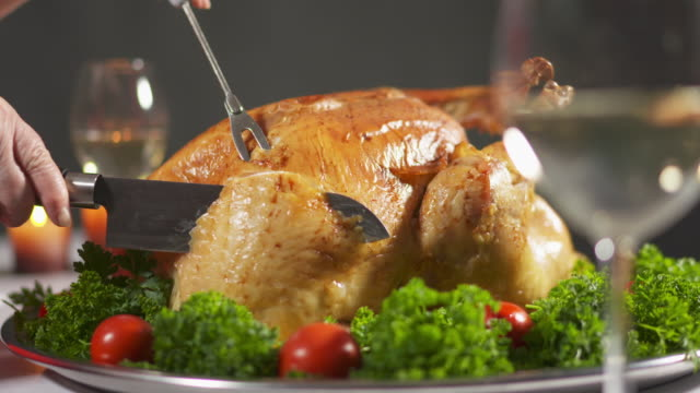 Thanksgiving roast whole turkey recipe step-by-step video