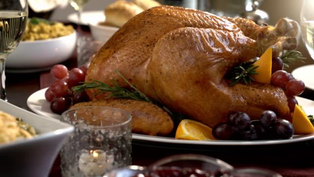 Thanksgiving Turkey Dinner Holiday Meal