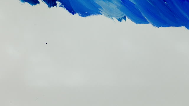 The abstract drawing on the sea. Time lapse. video