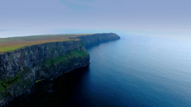 The amazing scenic view of the CLiffs of Moher video