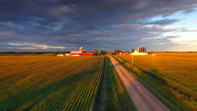 The American Heartland At Sunset
