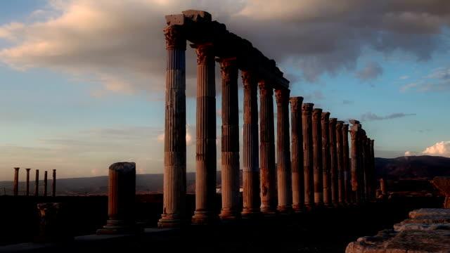 hd : 古代都市'laodikeia' - 記念建造物点の映像素材/bロール