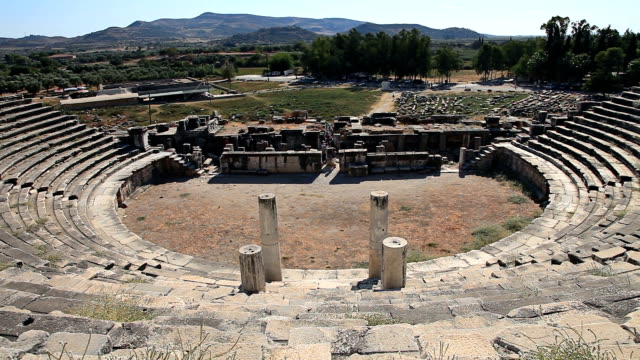 古代都市ミレトス - プリエネ点の映像素材/bロール