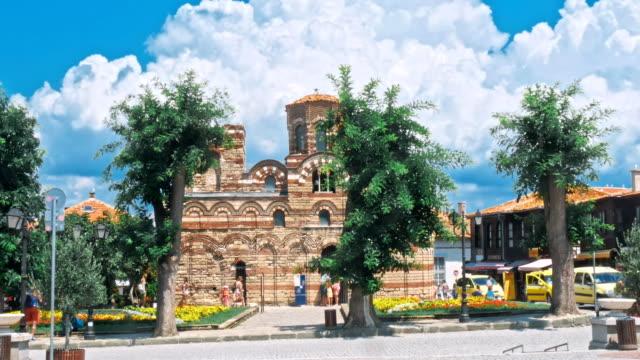 nesebar antik şehir bir unesco olduğunu - unesco stok videoları ve detay görüntü çekimi