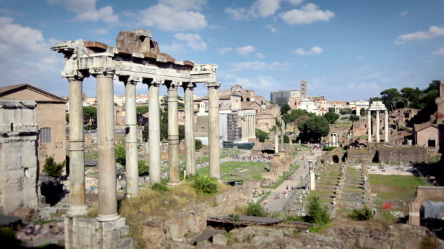 The Ancient Ruins of Rome, Italy video