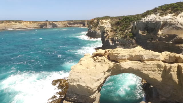 the Arch in Australia a scene of the arch in australia oceania stock videos & royalty-free footage