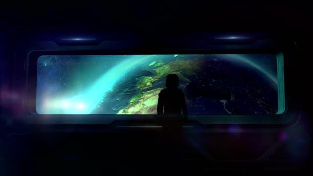 the astronaut returns to earth - континент географический объект стоковые видео и кадры b-roll