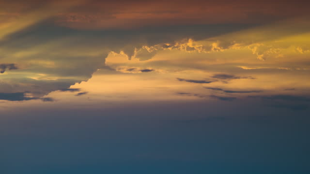 The beautiful cloud stream in the sky. time lapse The beautiful cloud stream in the sky. time lapse dramatic sky stock videos & royalty-free footage