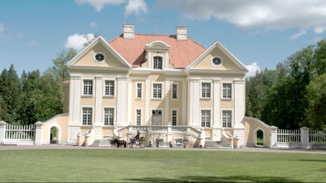 The beautiful old Palmse Manor in Lahemaa 4K FS700 Odyssey 7Q video