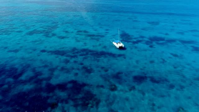 日本では沖縄の美しい海の景色 ビデオ