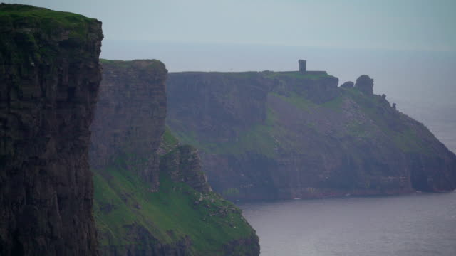 The beauty of the Cliffs of Moher in Ireland in Ireland video