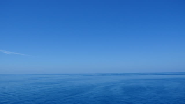 The beauty of the sea and the blue sky. video