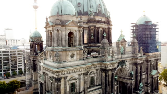 The Berliner Dom from the air