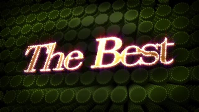 najlepsze glitz blasku tekst - zachodnie pismo filmów i materiałów b-roll