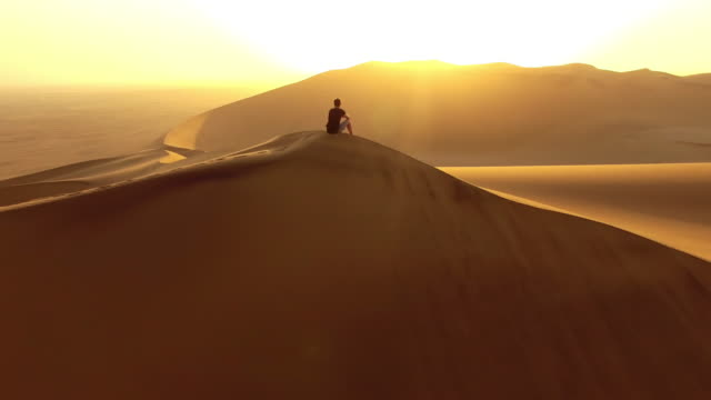 The best seat for a desert sunrise video