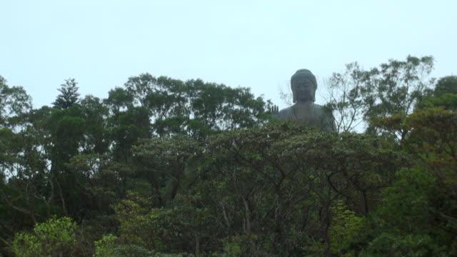 The big Buddha in Lantau Island, in Hong Kong