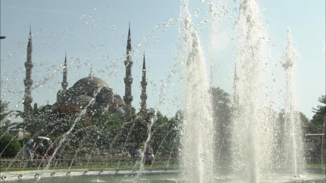 The Blue Mosque (Sultanahmet Camii), Istanbul, Turkey video